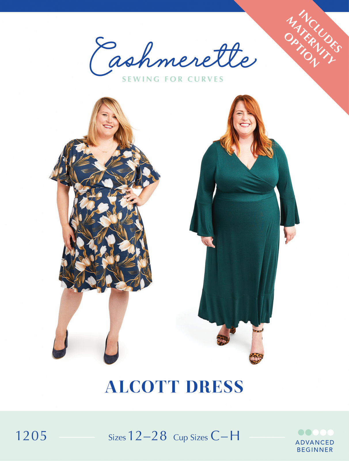 Cashmerette Alcott Dress Pattern