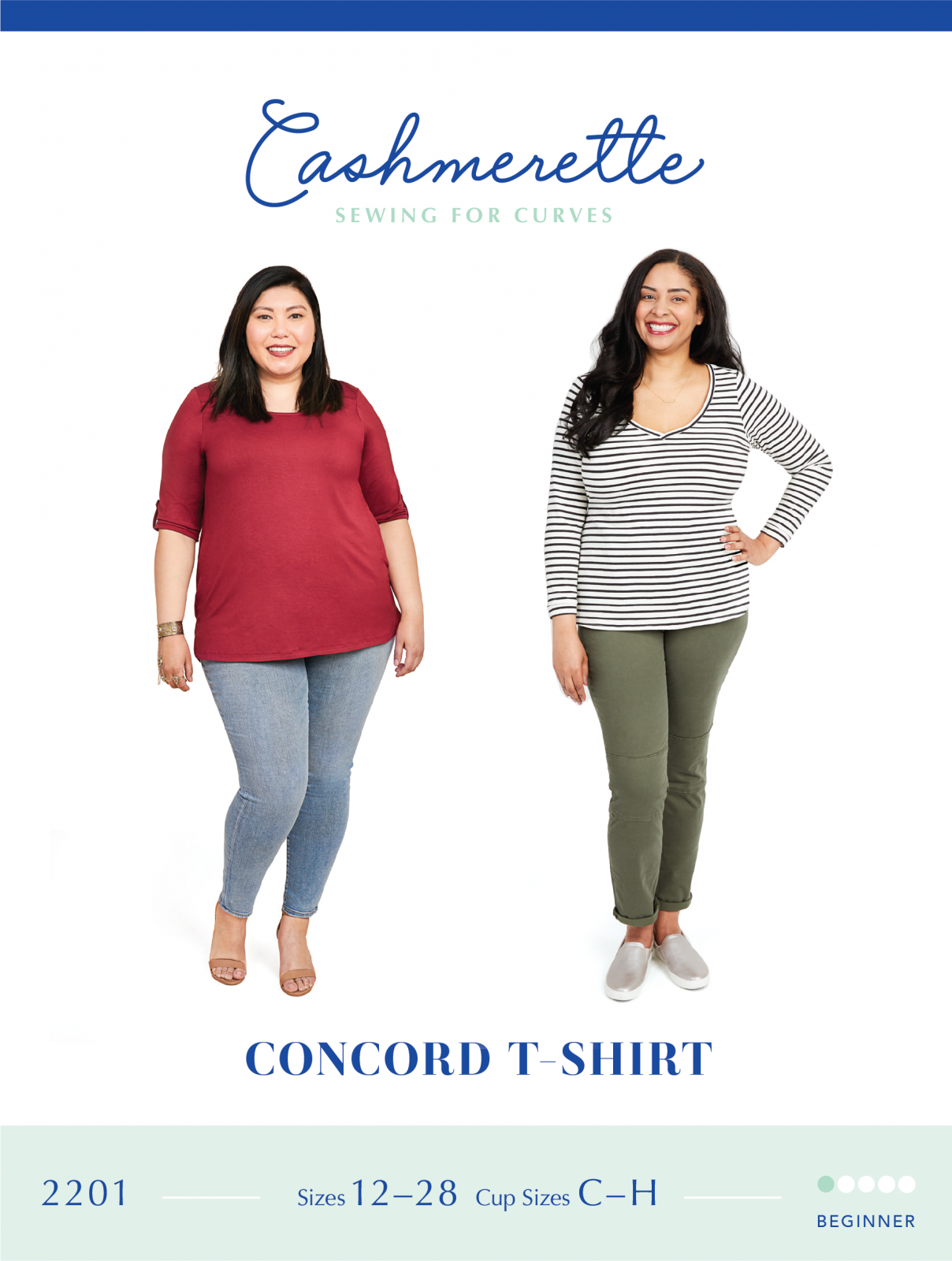 Cashmerette Concord T-Shirt Pattern