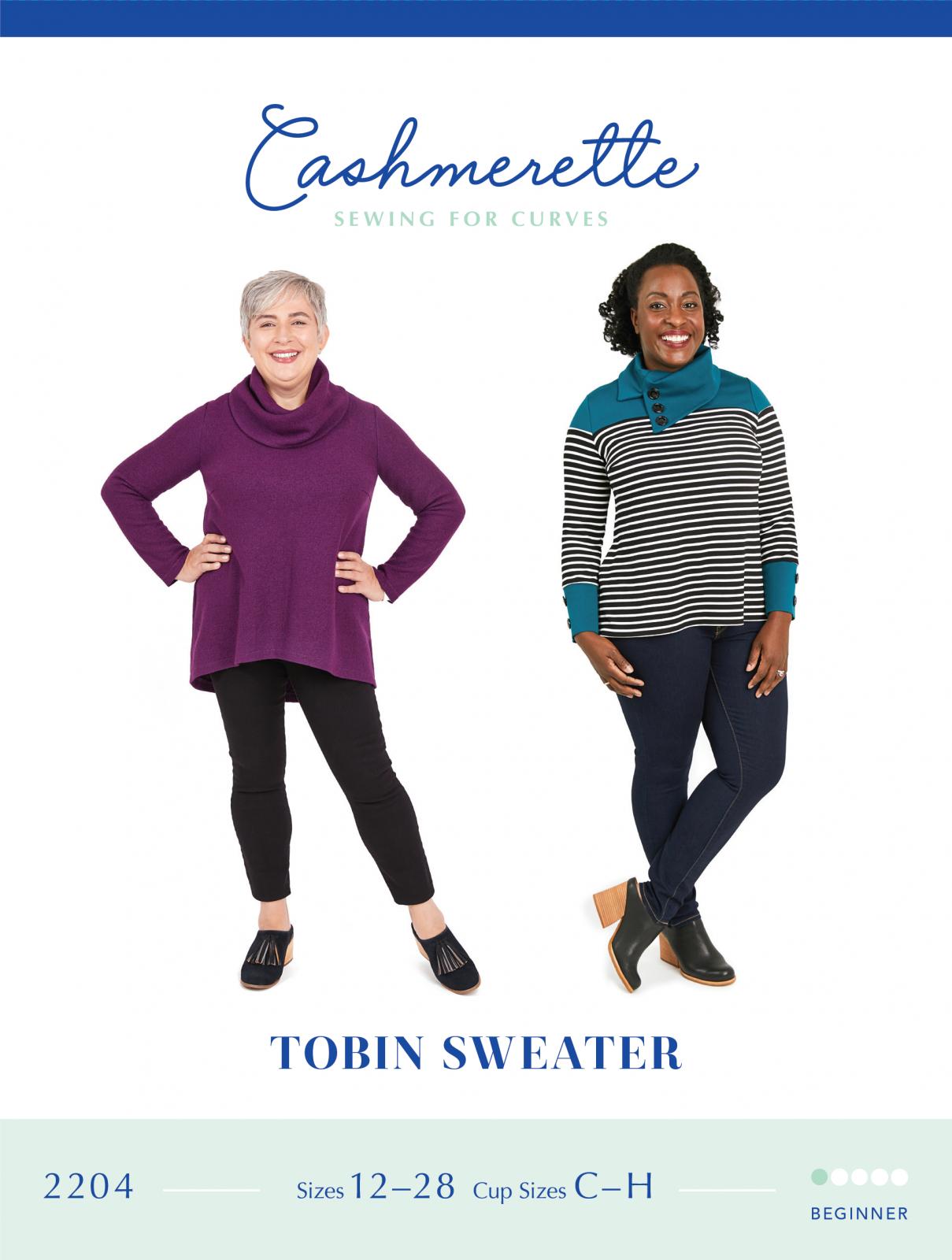 Cashmerette Tobin Sweater Pattern