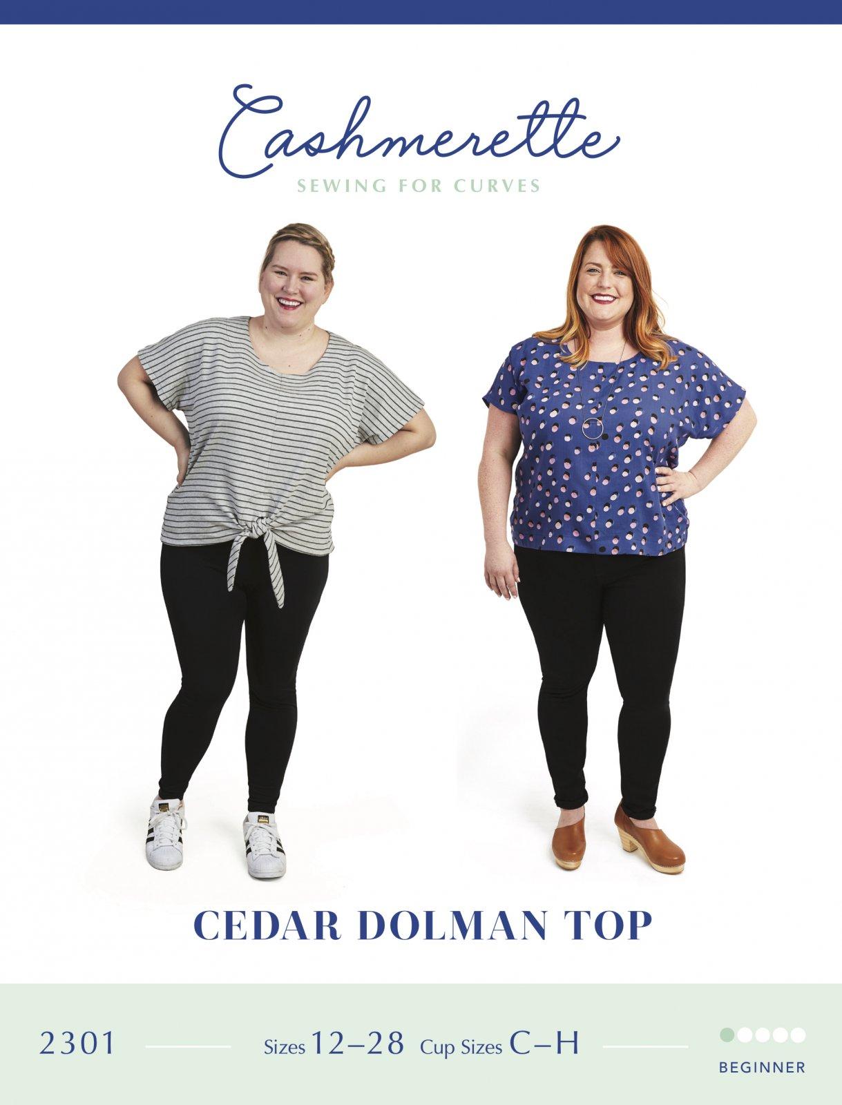 Cashmerette Cedar Dolman Top Pattern