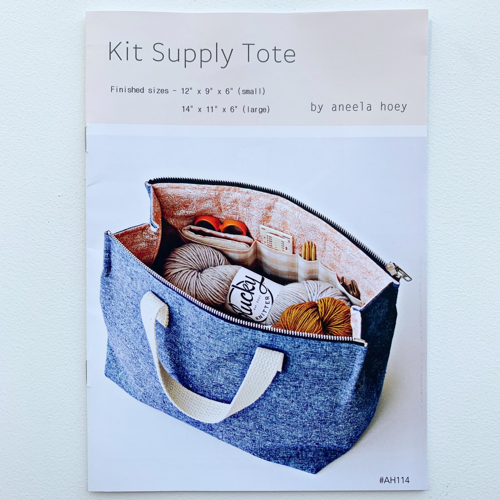 Aneela Hoey Kit Supply Tote Pattern
