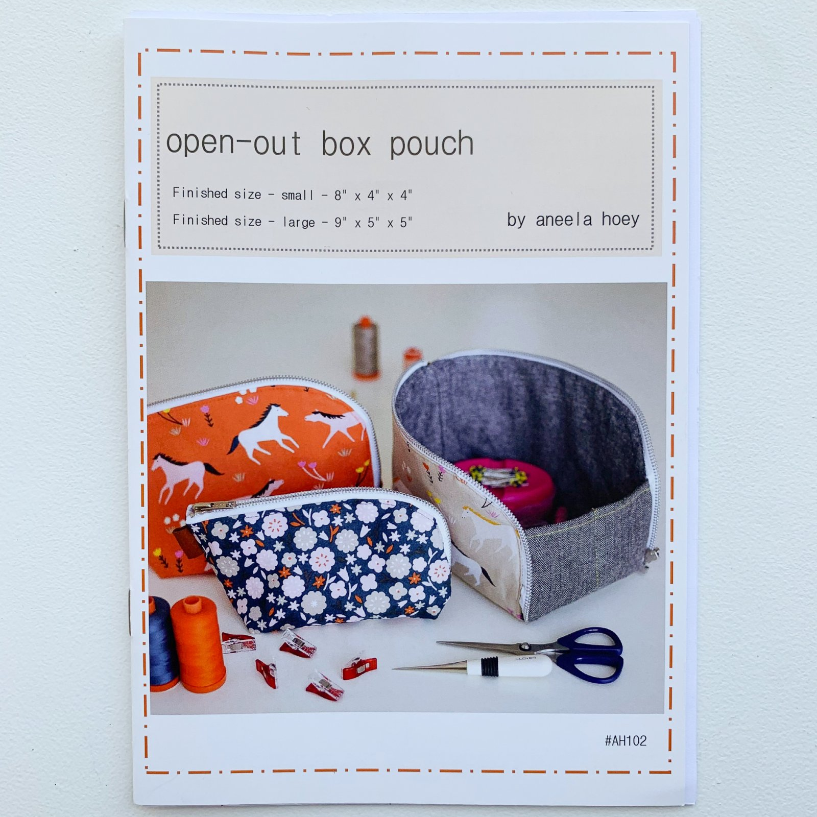 Aneela Hoey Open Out Box Pattern