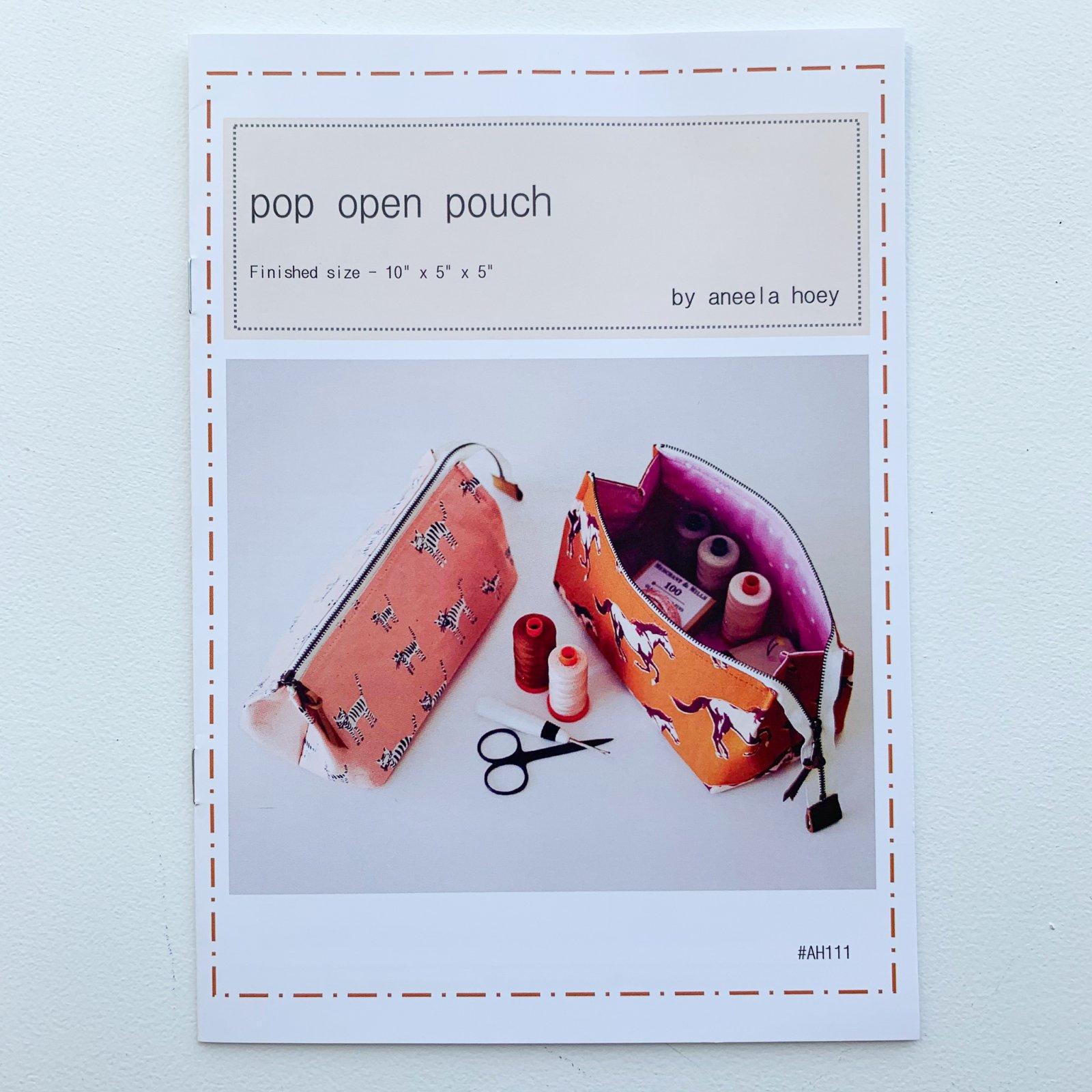 Aneela Hoey Pop Open Pouch Pattern
