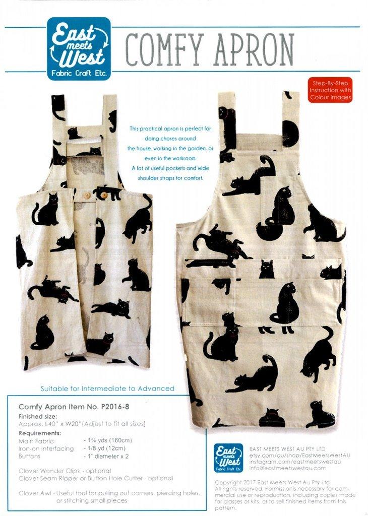 QH Textiles Comfy Apron Pattern
