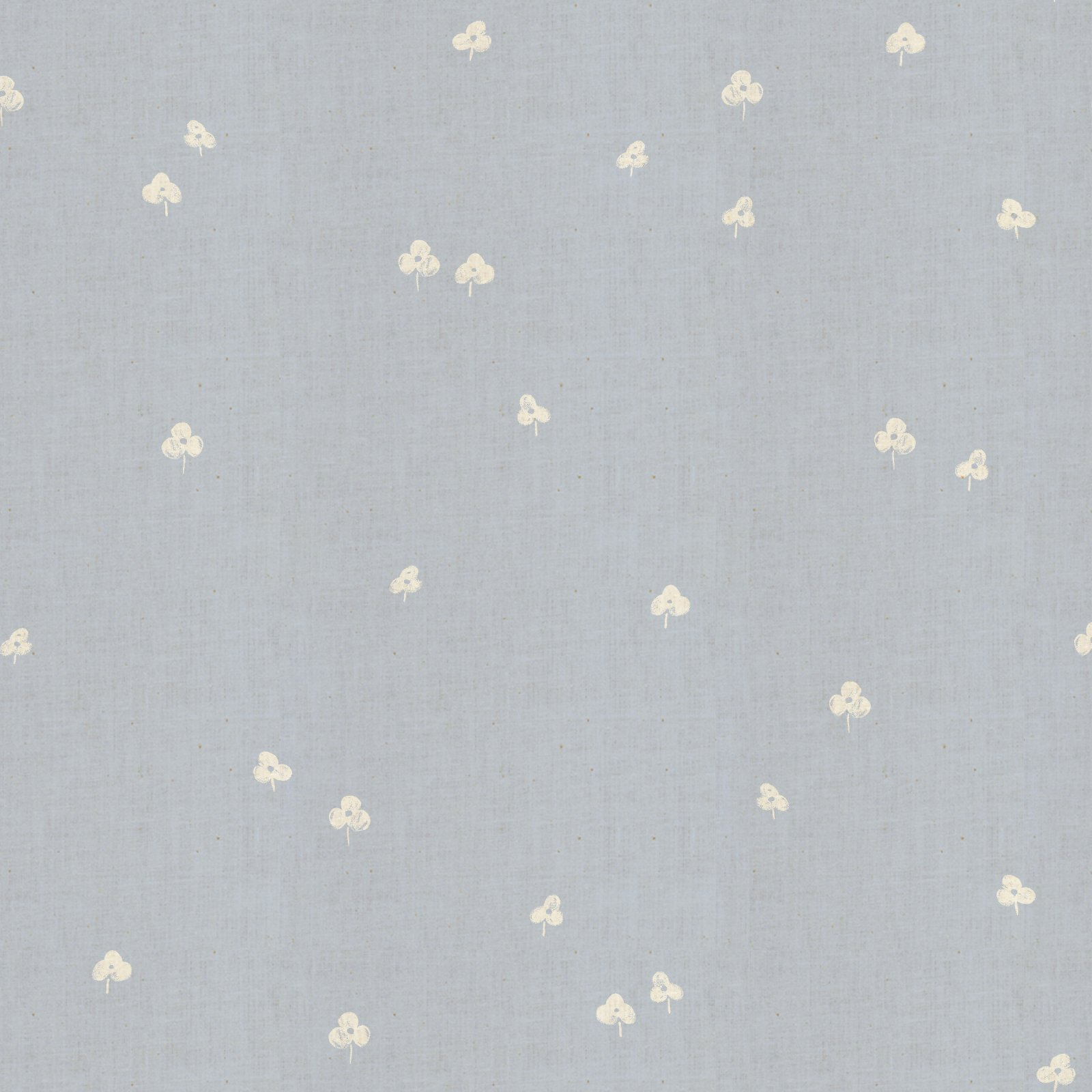 Cotton + Steel Basics Unbleached Cotton - Clover and Over - Narwhal