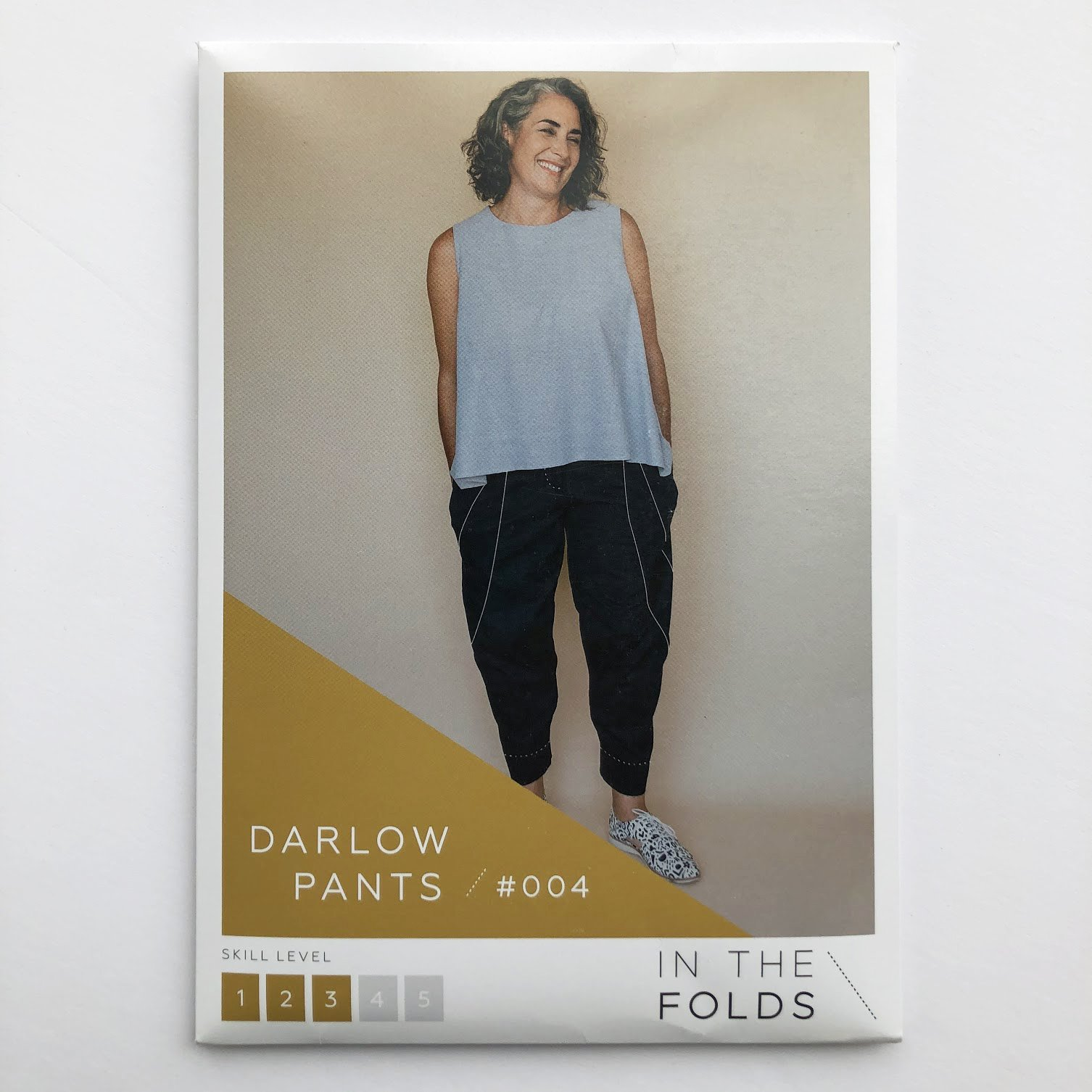 In The Folds Darlow Pants Printed Pattern