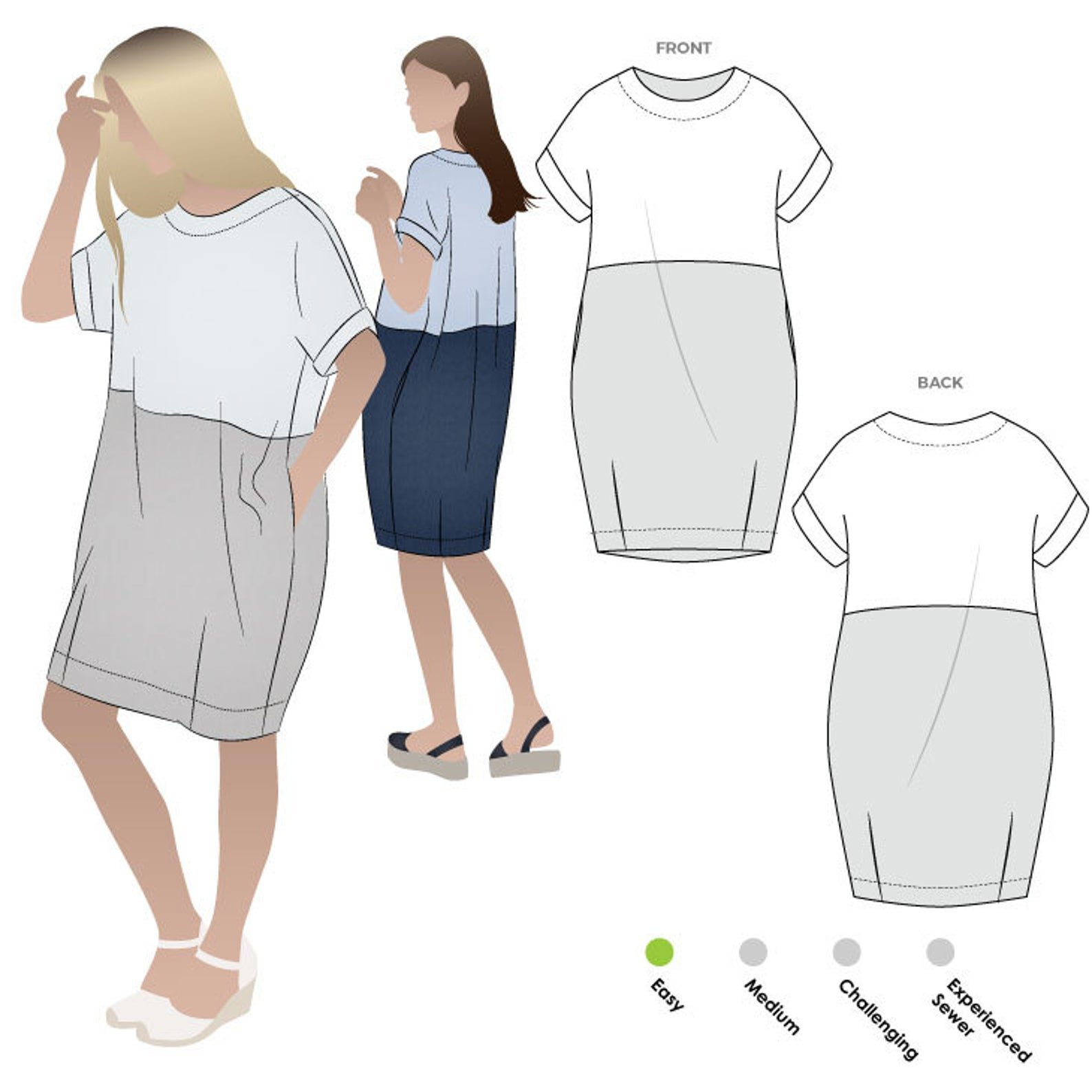 Style Arc Eme Dress Pattern