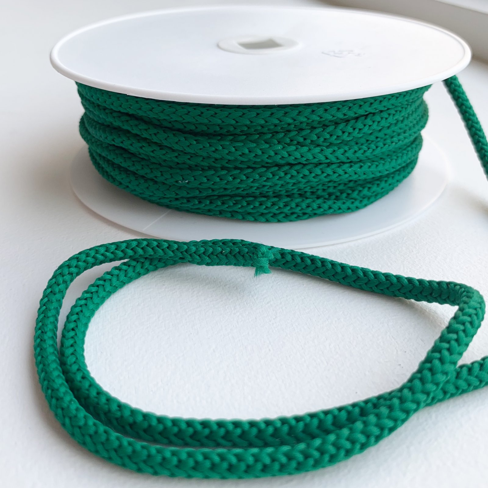 Drawstring Cord - Dark Green