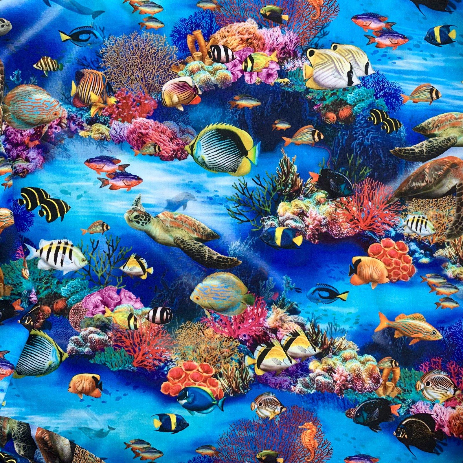 Underwater Fantasy Cotton