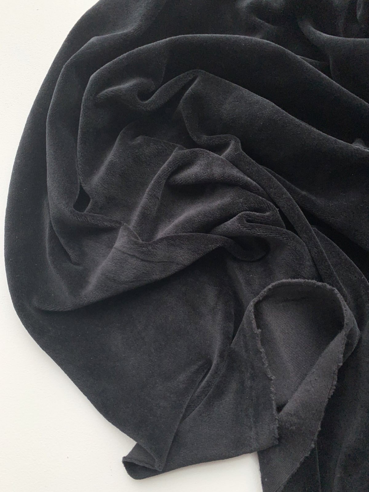Velour Knit - Black 62