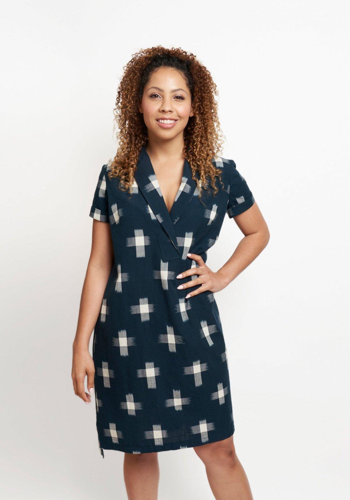 Grainline Studio Augusta Shirt & Dress Pattern - Sizes 0-18 or 14-30