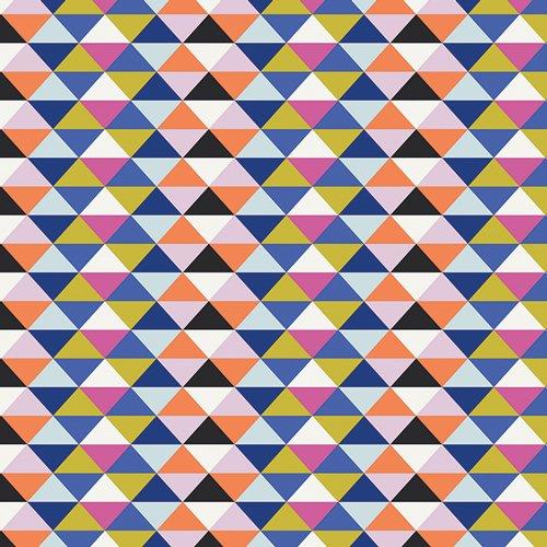 Art Gallery Fabrics Cotton - Tripixels Loud