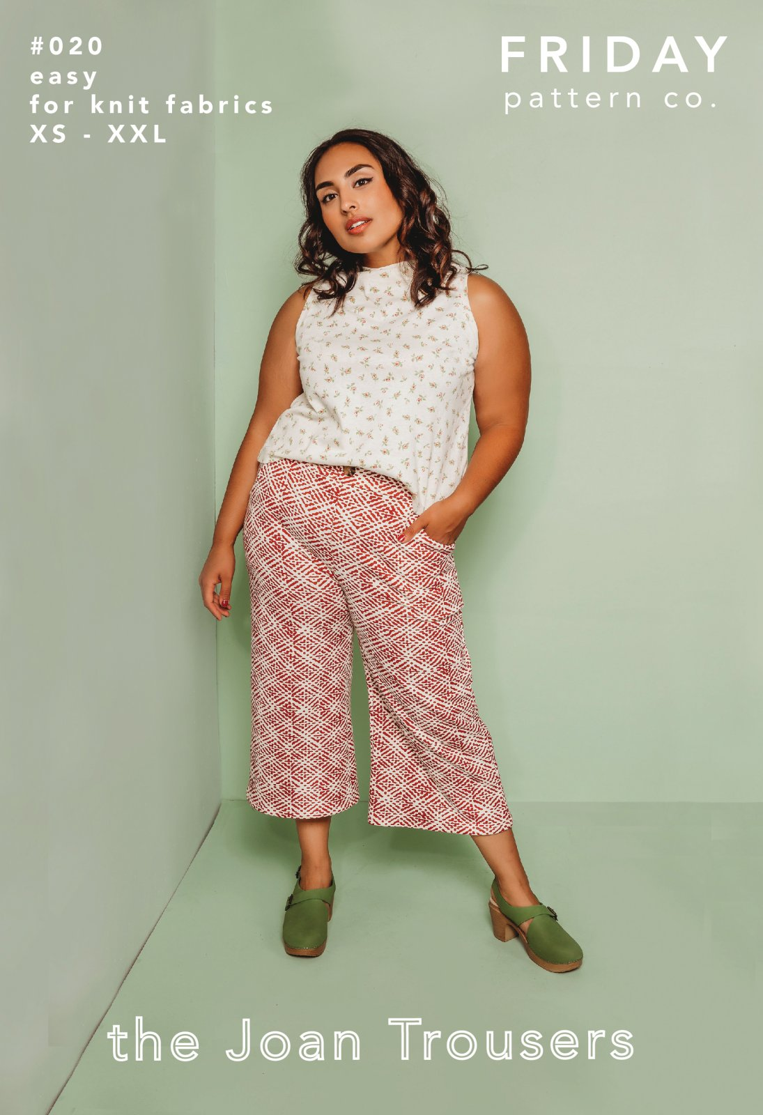 Friday Pattern Co The Joan Trousers Pattern