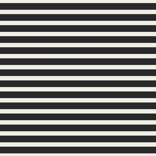 Art Gallery Fabrics Cotton Stretch Jersey - Striped Alike Caviar 58