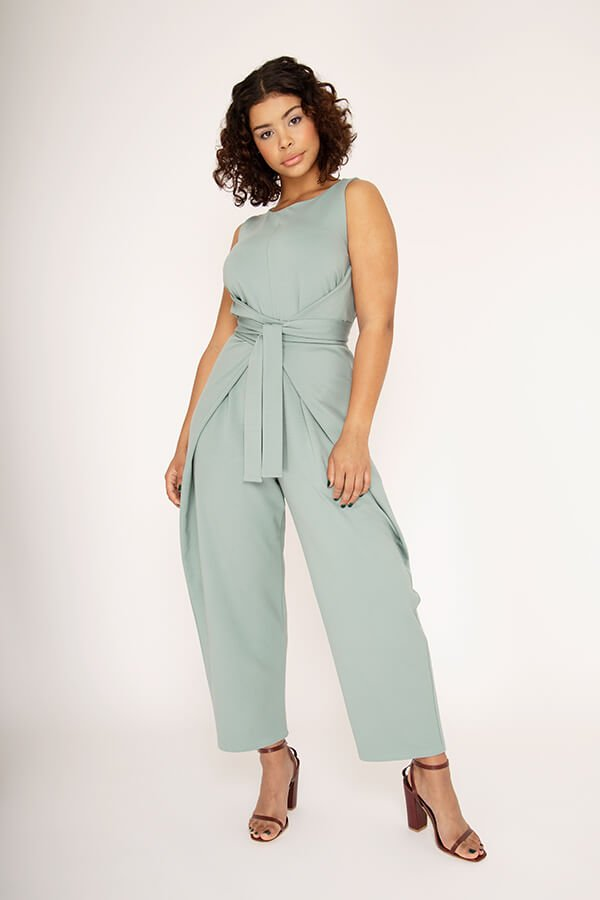 Named Clothing Kielo Wrap Dress and Jumpsuit Pattern