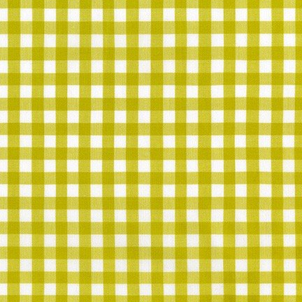 Kitchen Window Wovens Gingham - Pickle