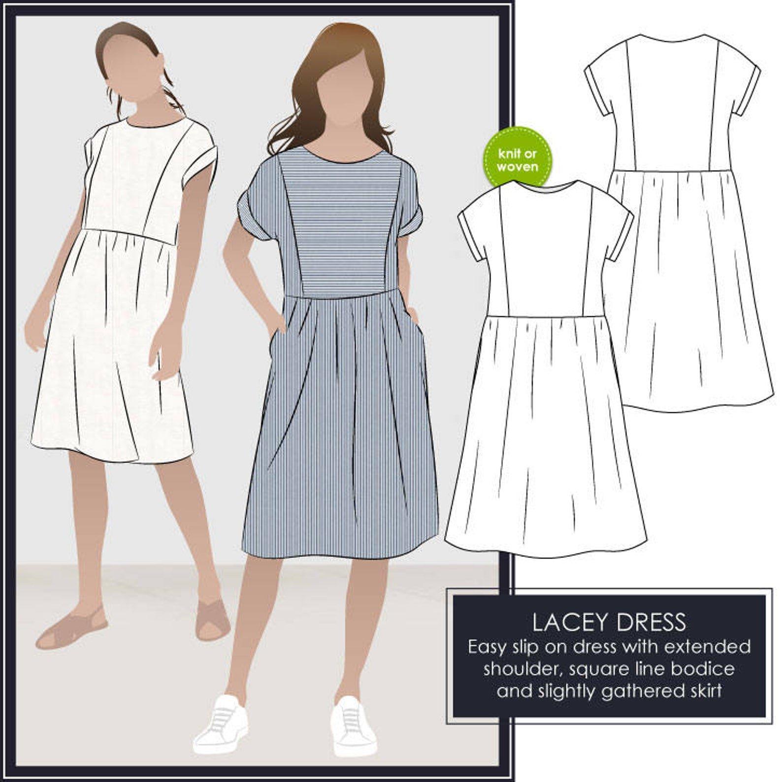 Style Arc Lacey Dress Pattern