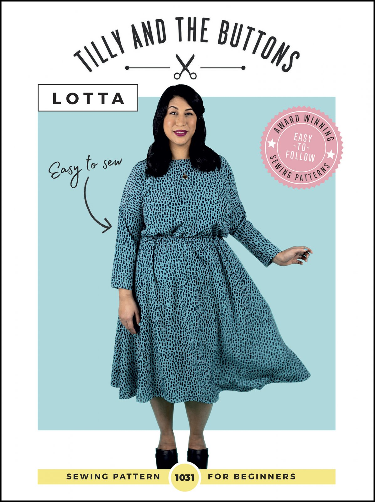 Tilly and the Buttons Lotta Dress Pattern - Sizes 2-20