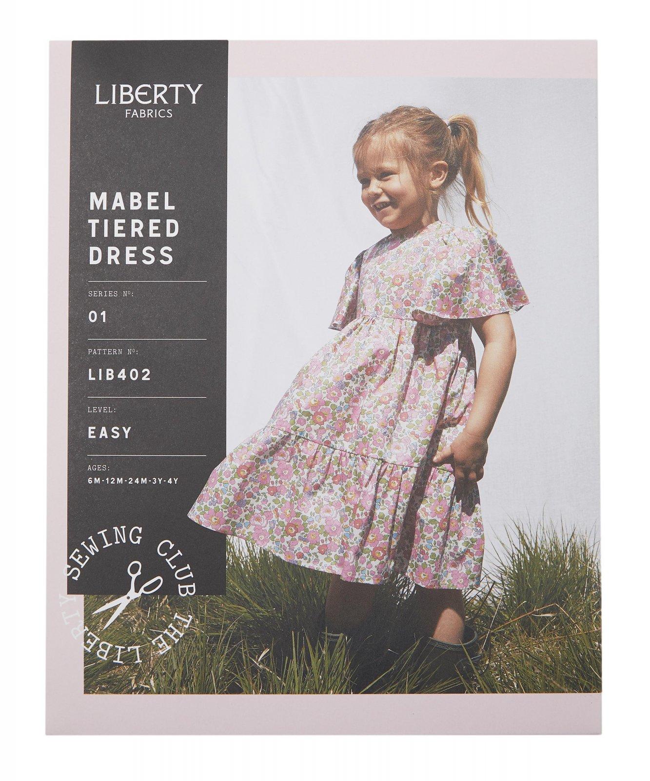 Liberty Fabrics Mabel Tiered Dress