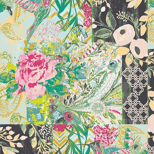 Art Gallery Fabrics Cotton - Collage Poise