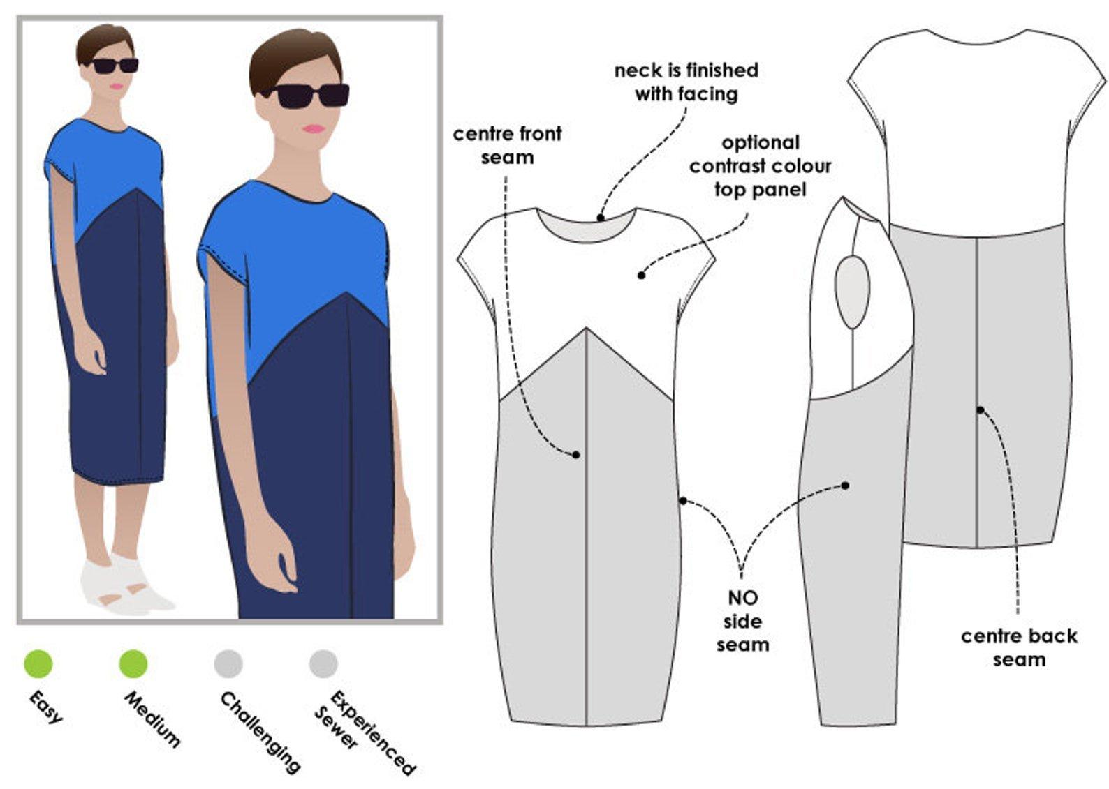 Style Arc Mila Dress Pattern