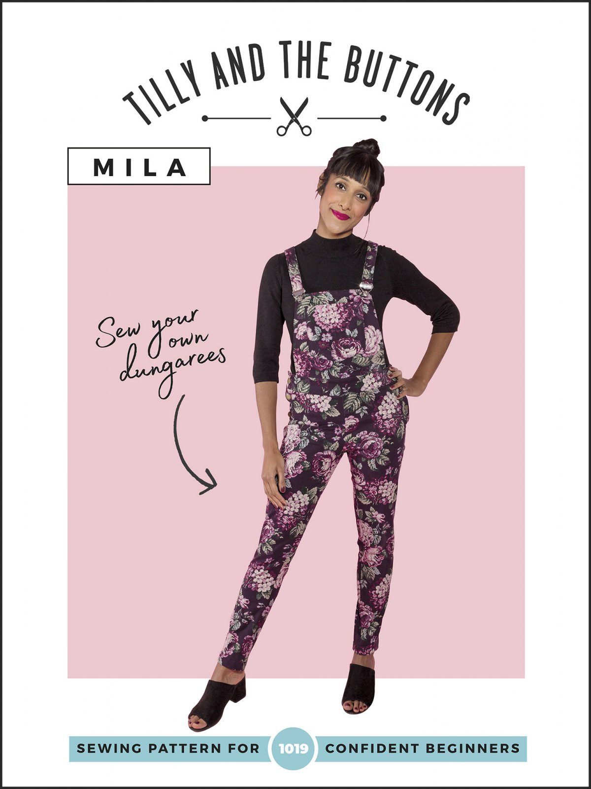 Tilly and the Buttons Mila Dungarees Pattern