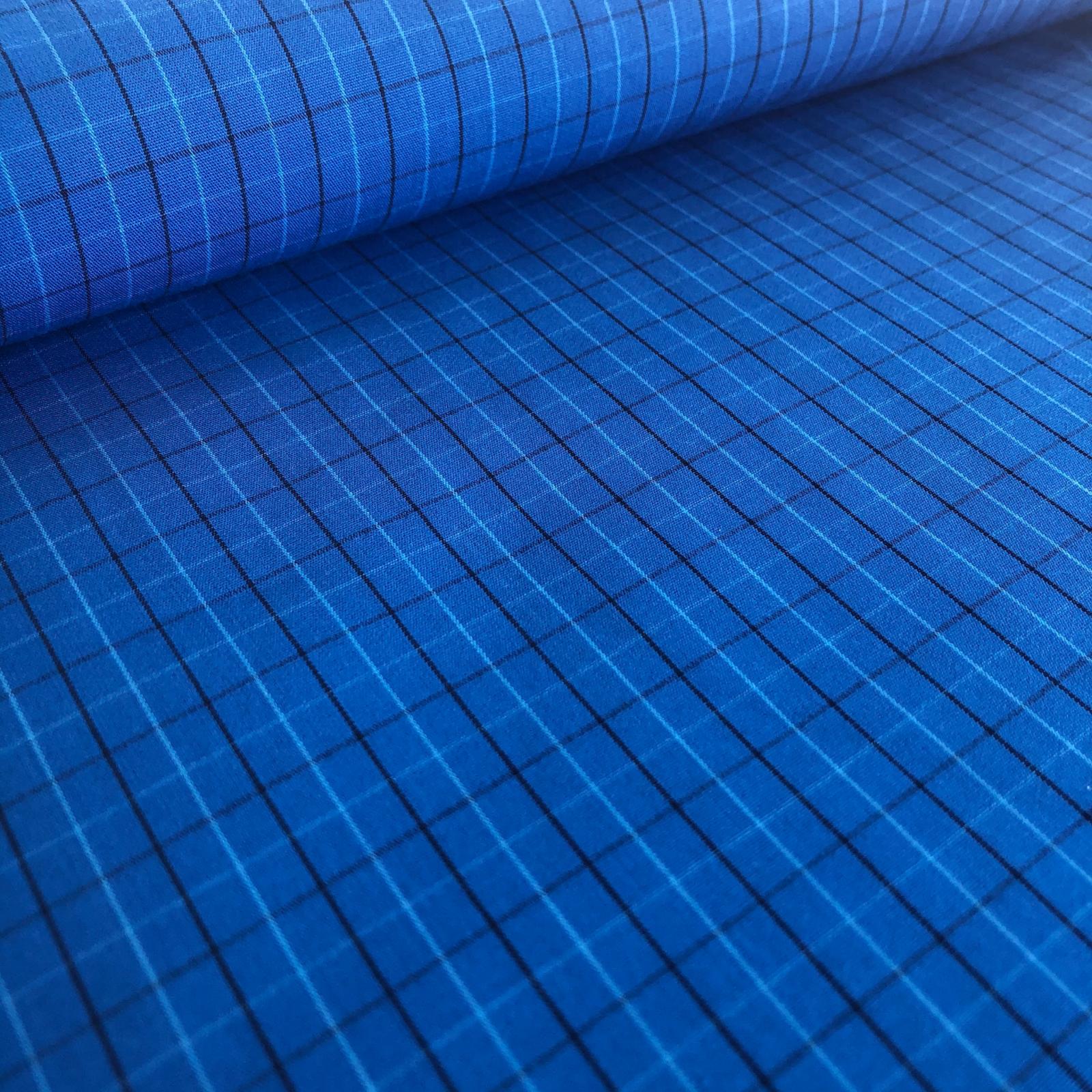 Harriot Yarn Dyed Cotton - Blue Plaid
