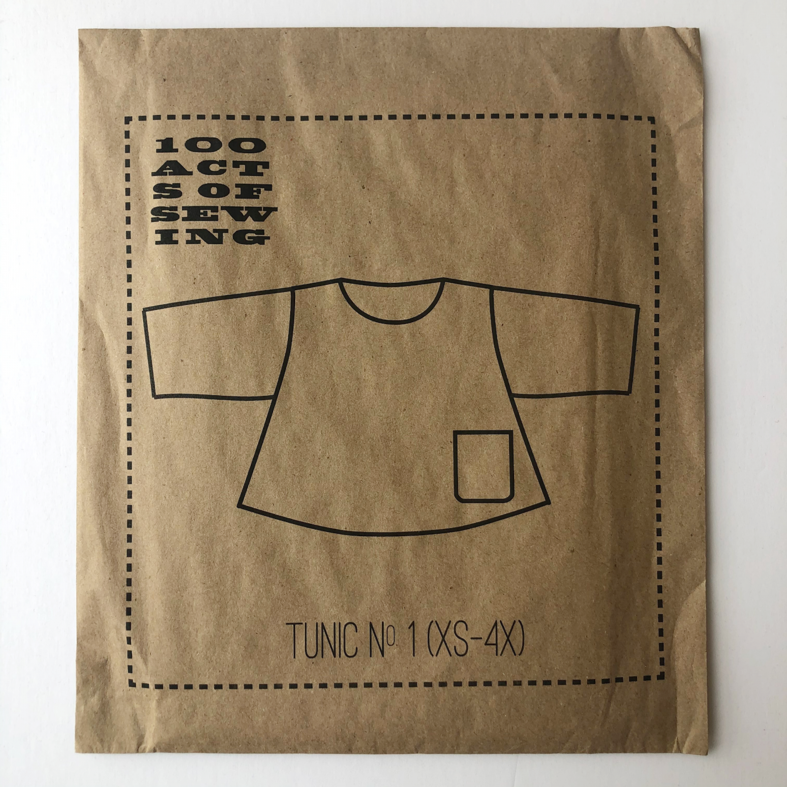 100 Acts of Sewing Tunic No. 1 Pattern (XS-4X)