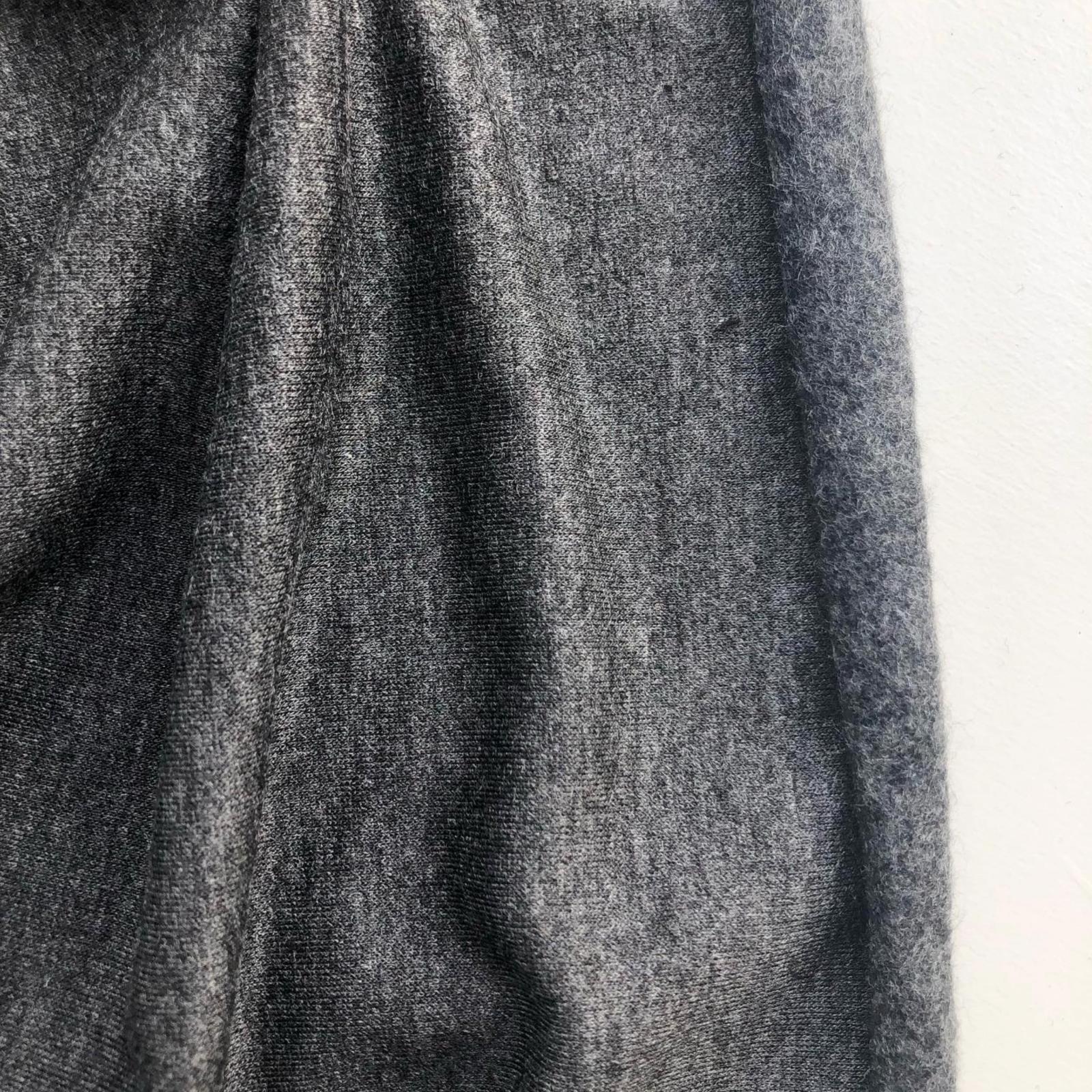 Rayon/Lycra 10 oz Sweatshirt Fleece - Charcoal