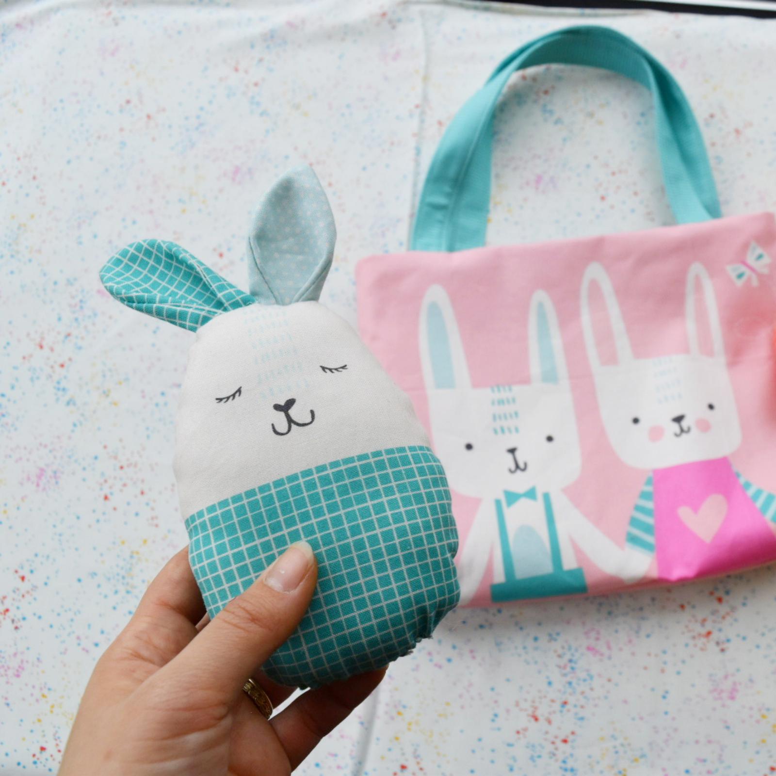 Easter Egg Bag Panel