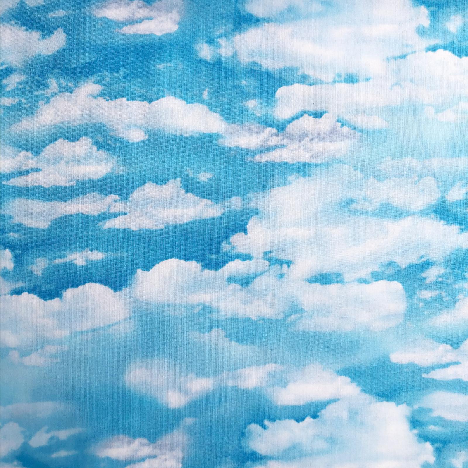 Cloud Sky Cotton - Blue