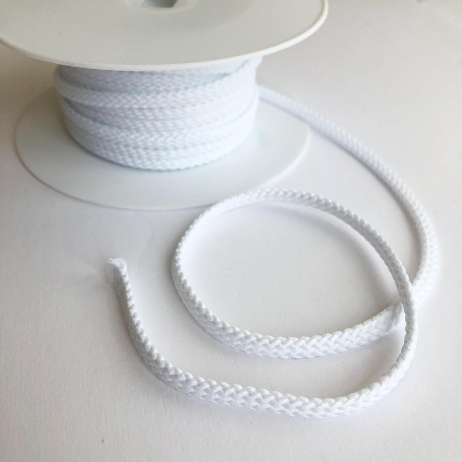 Drawstring Cord - White