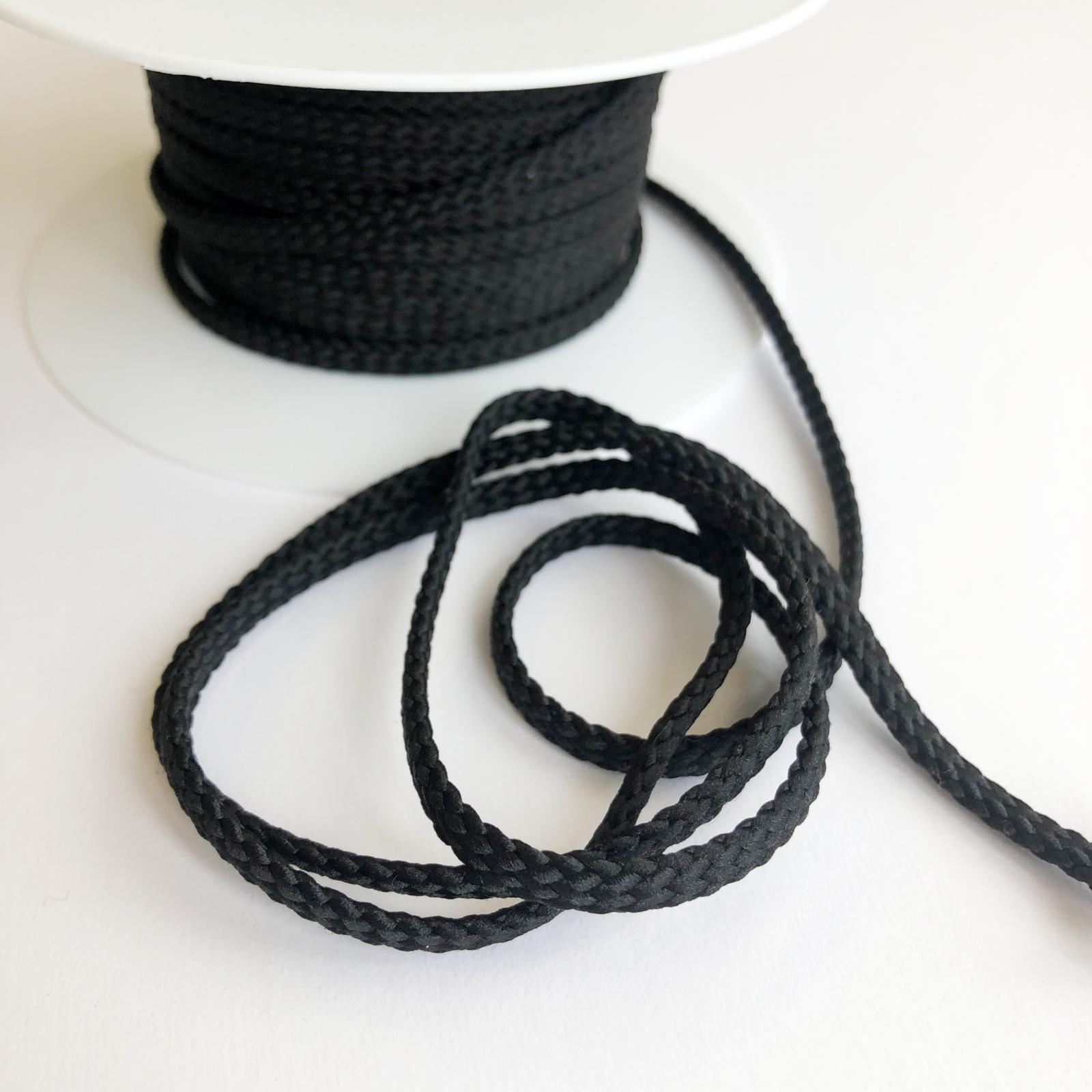 Drawstring Cord - Black