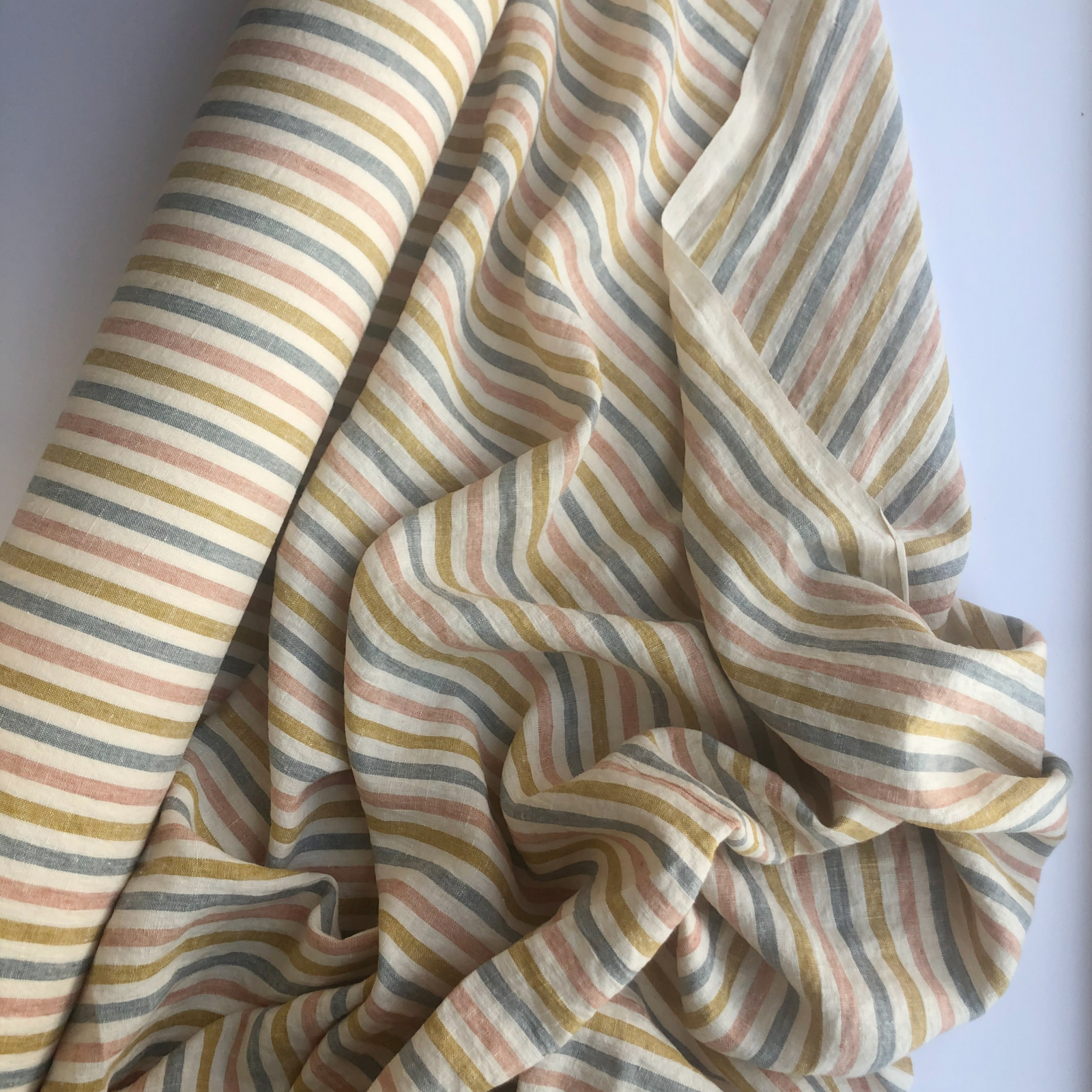 Merchant & Mills Laundered Linen - Suzy Stripe 59