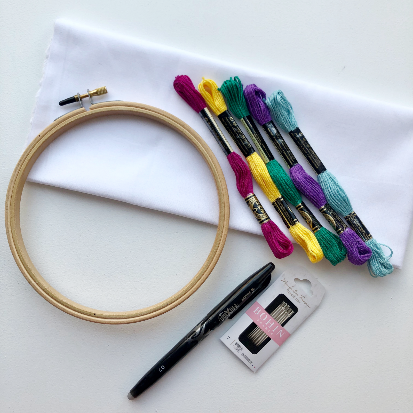 Cut & Sew Class Embroidery Essentials Kit