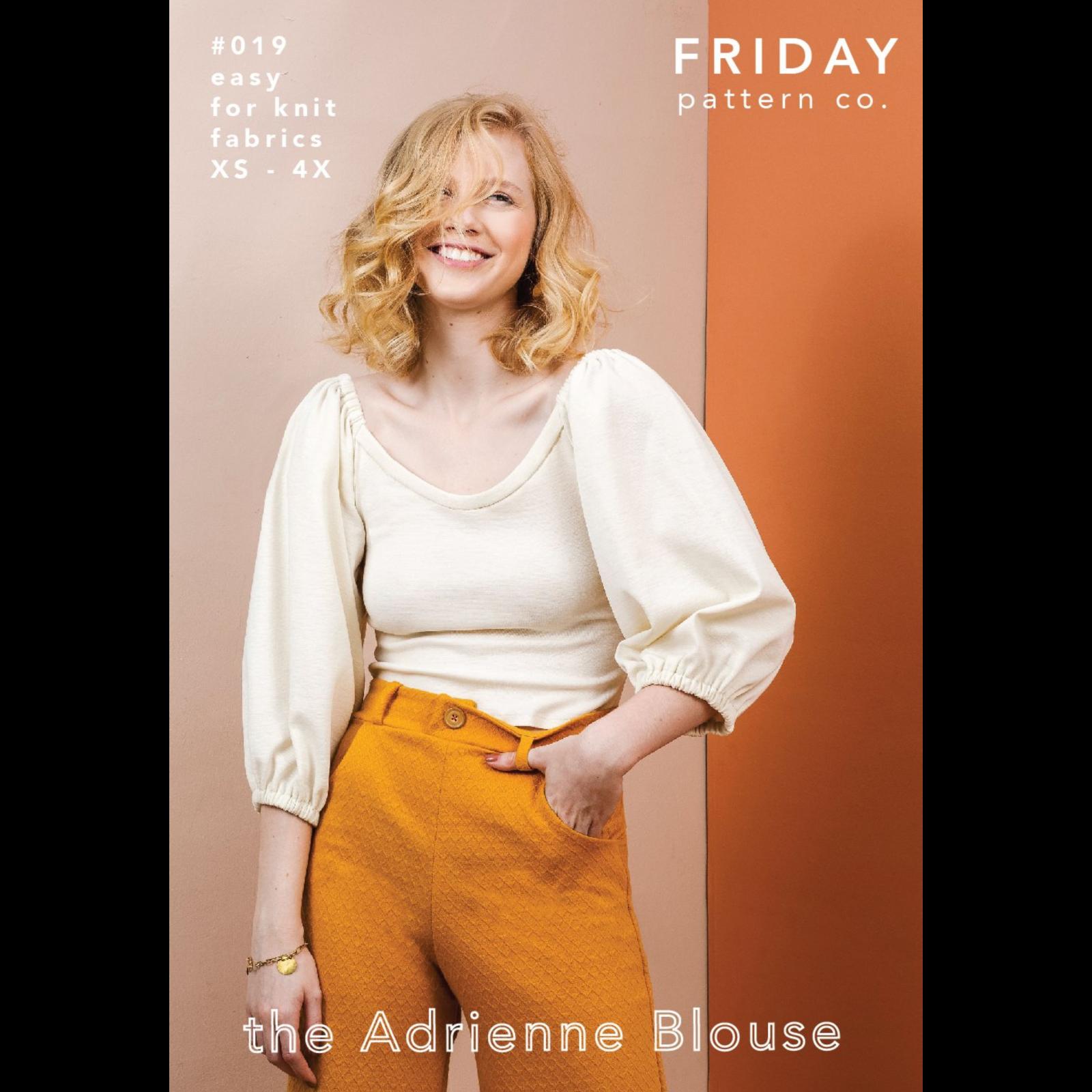 Friday Pattern Co. Adrienne Blouse Pattern
