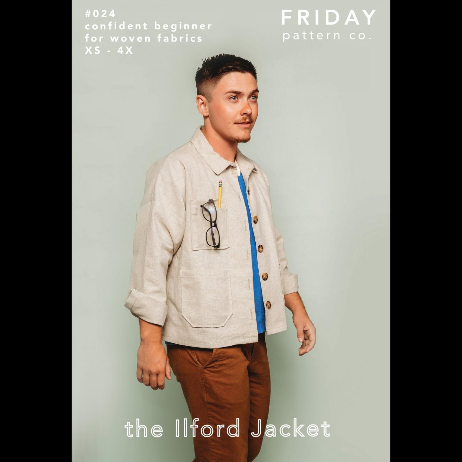 Friday Pattern Co. Ilford Jacket Pattern