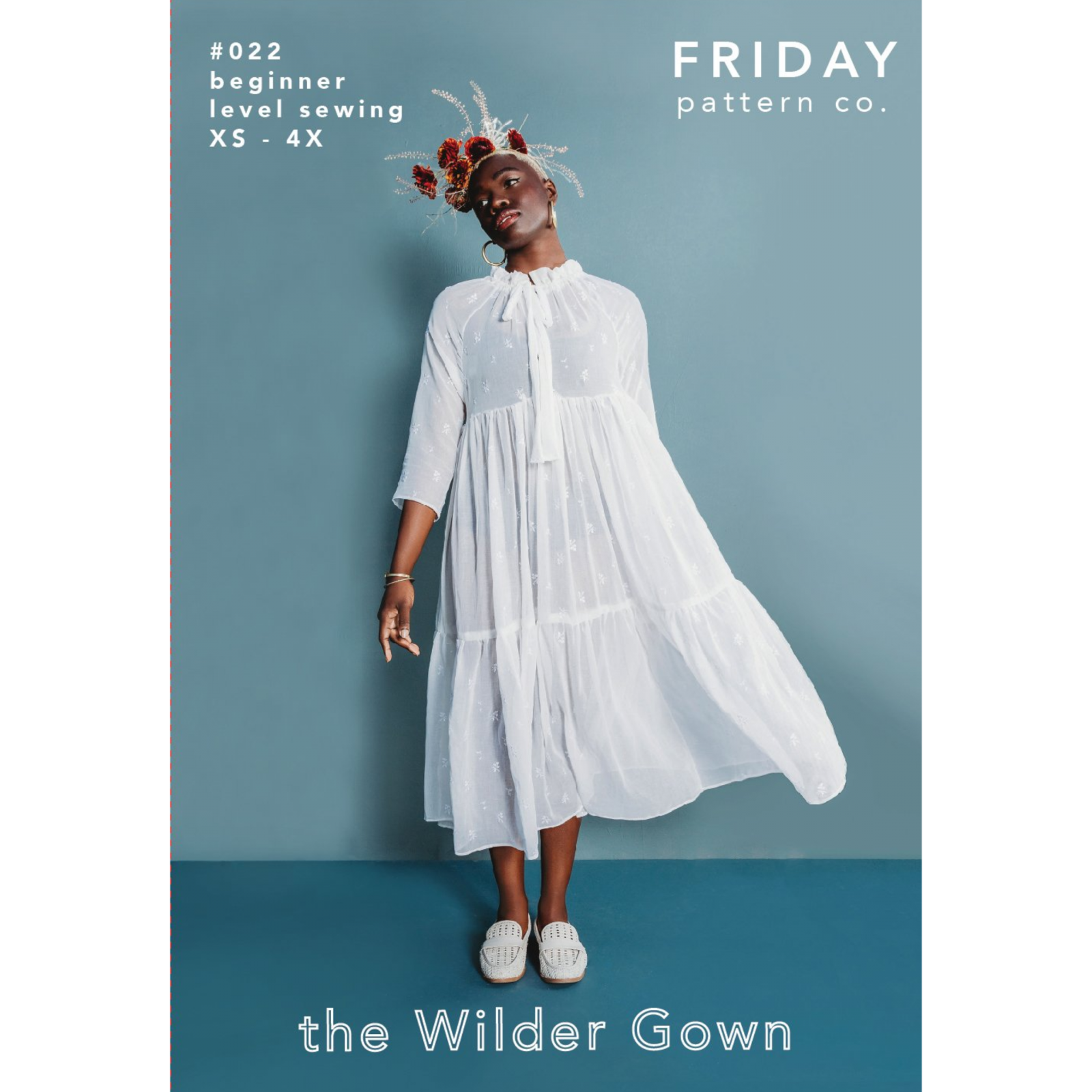 Friday Pattern Co Wilder Gown
