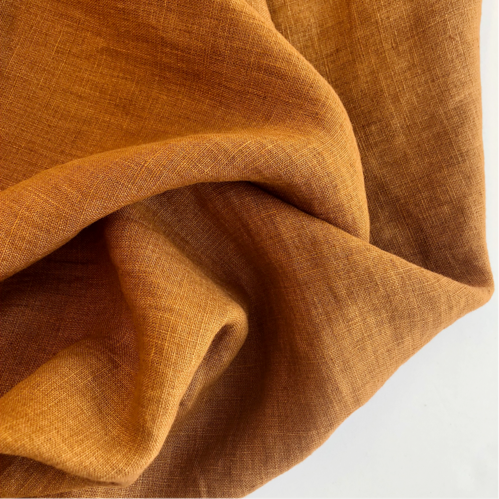 Merchant &  Mills Laundered Linen - Nutmeg Brown 56