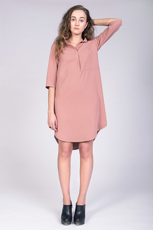 Named Clothing Helmi Trench Blouse and Tunic Pattern