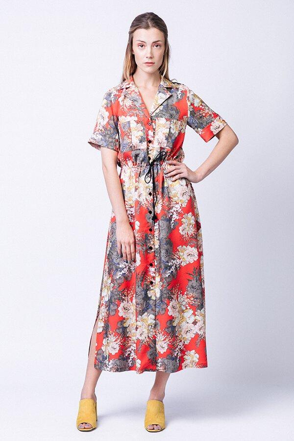 Named Clothing Reeta Midi Shirt Dress Pattern