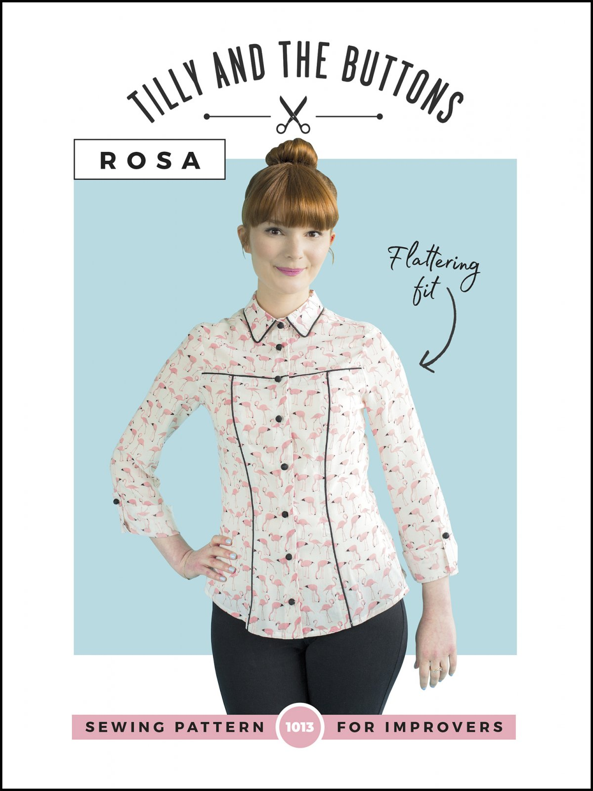 Tilly And The Buttons Rosa Shirt and Dress Pattern