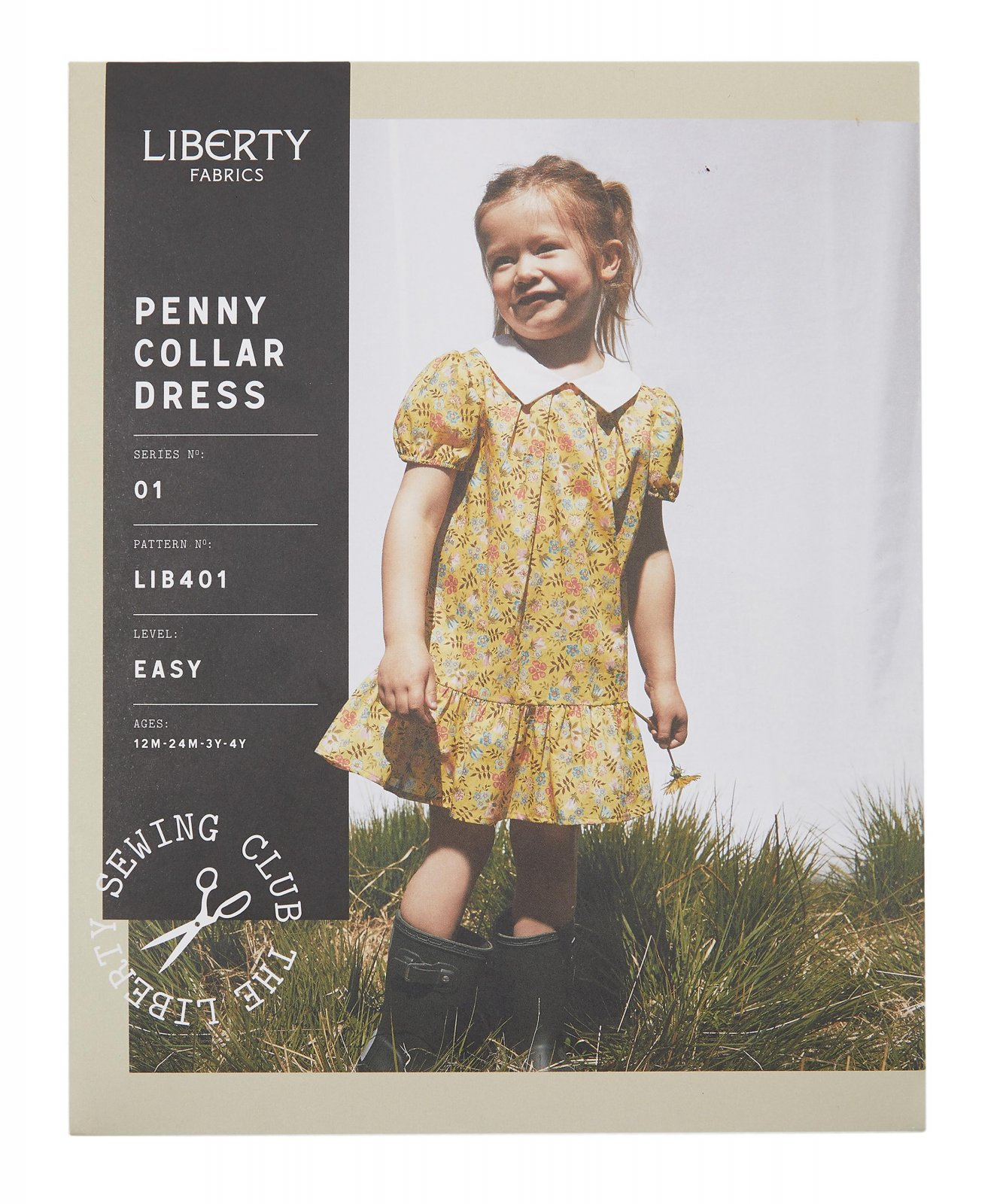 Liberty Fabrics Penny Collar Dress
