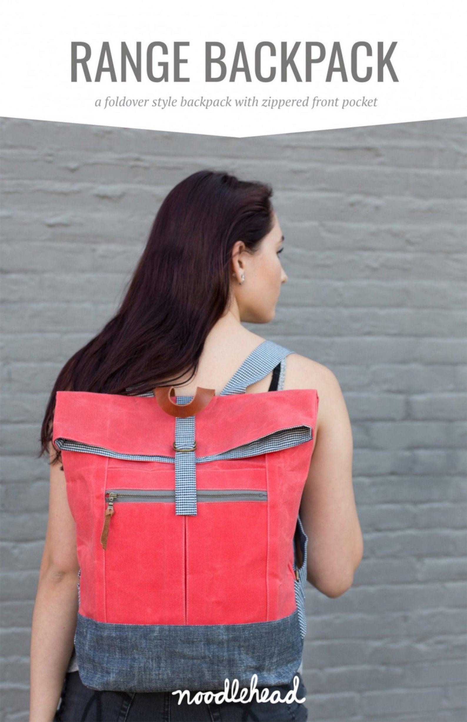 Noodlehead Range Backpack Pattern