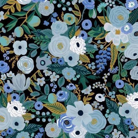 Rifle Paper Co. Garden Party - Blue Cotton