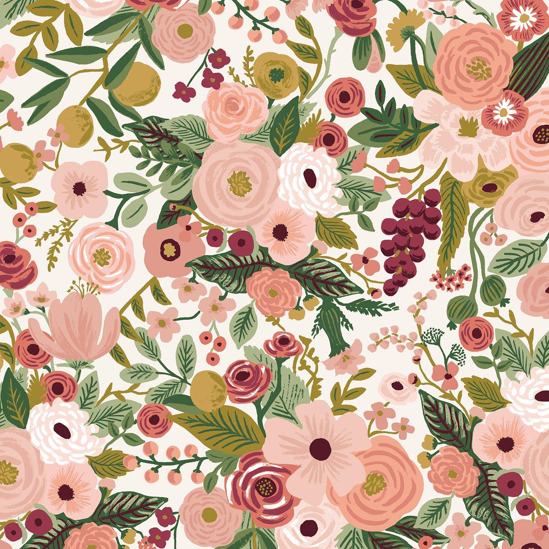 Rifle Paper Co. Garden Party - Rose Cotton
