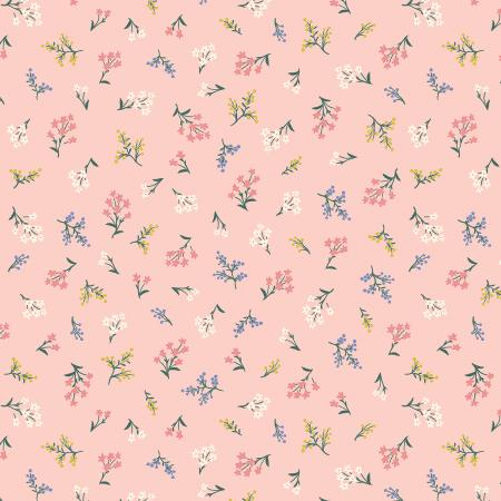 Rifle Paper Co. Strawberry Fields - Petites Fleurs Cotton - Blush