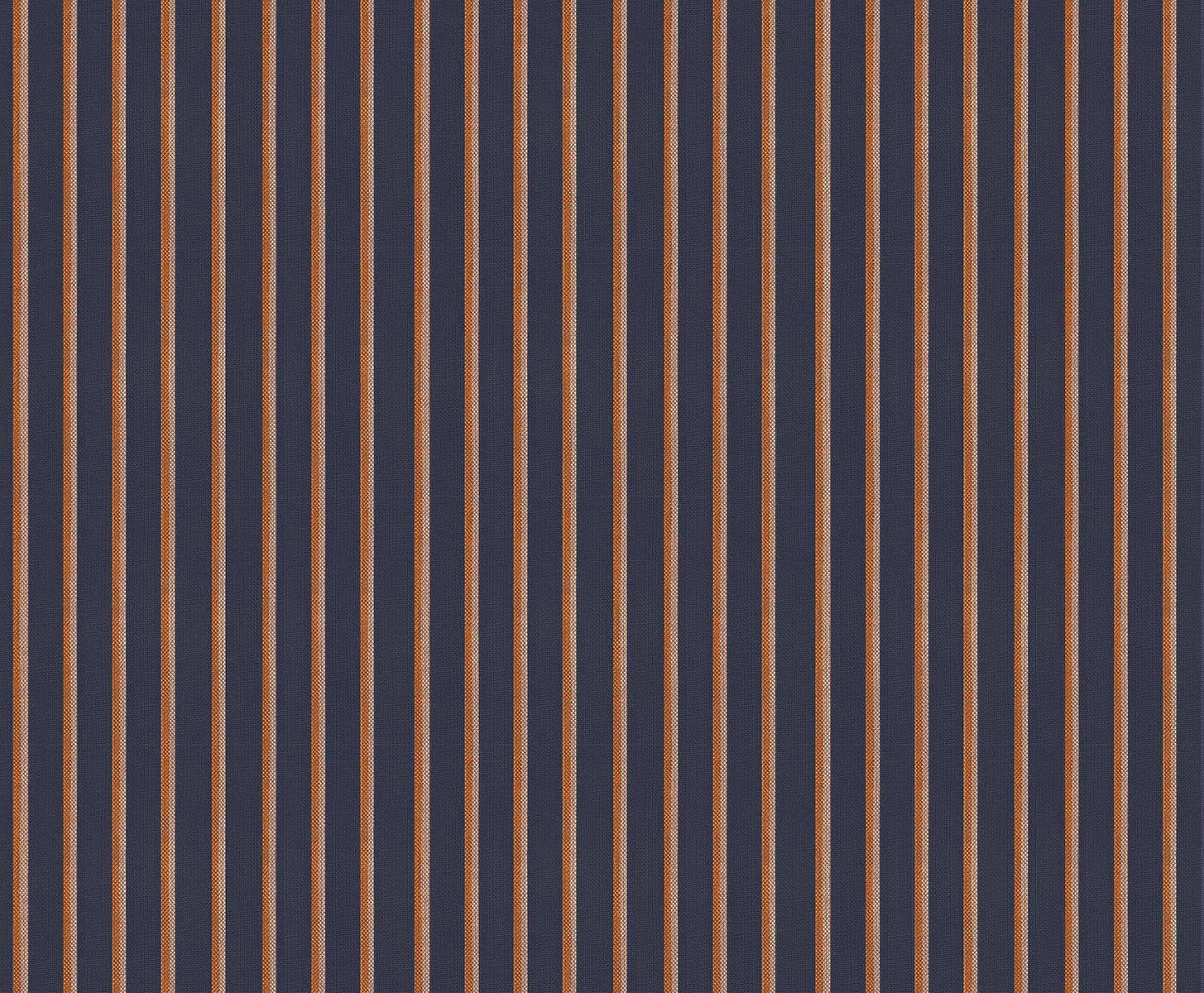 Ruby Star Society Warp & Weft Heirloom Yarn-Dyed Wovens - Shirtwaist - Navy