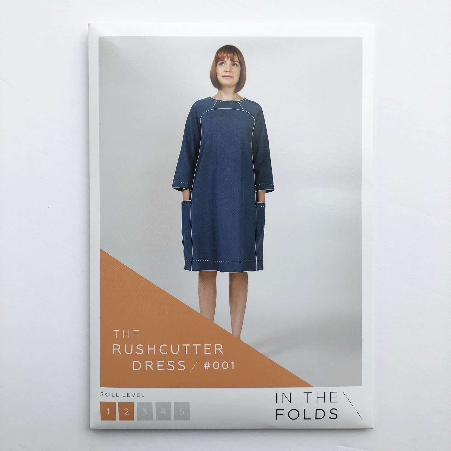 In The Folds Rushcutter Dress Pattern