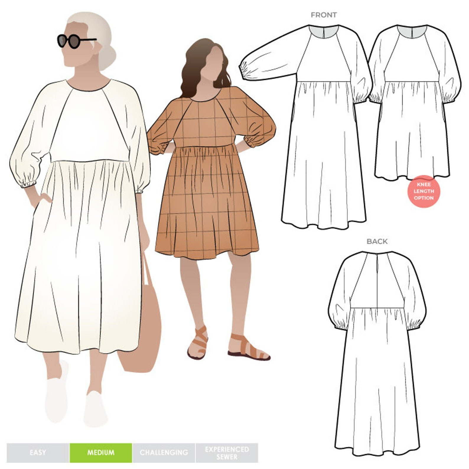 Style Arc Hope Woven Dress - Sizes 4-16 or 18-30